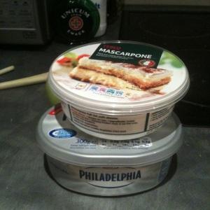 Mascarpone és Philadelphia